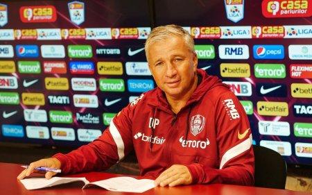 Ce transferuri a incercat CFR Cluj! Dan Petrescu s-a interesat de un jucator de la FCSB si de un campion european