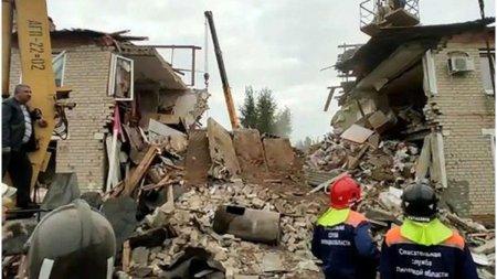 Trei oameni au murit in urma unei explozii intr-un bloc din Rusia