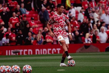 Cristiano Ronaldo, titular in primul meci de la revenirea la Manchester United