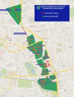Restrictii de trafic in Bucuresti in zilele de sambata si duminica. Rute <span style='background:#EDF514'>OCOLITOARE</span> pentru soferi