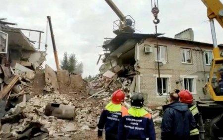 O explozie puternica a avut loc intr-un bloc, in Rusia. Trei oameni si-au pierdut viata