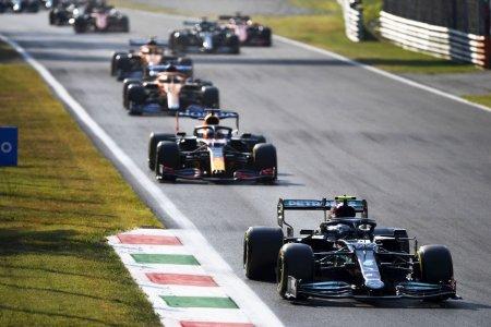 Valtteri Bottas a castigat cursa Sprint de la Monza, dar Max Verstappen va pleca din pole-position duminica. Accident in primul tur