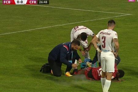Gest golanesc al lui Juan Emmanuel Culio la revenirea la CFR Cluj » Mijlocasul, <span style='background:#EDF514'>NOROCOS</span> ca a scapat de eliminare