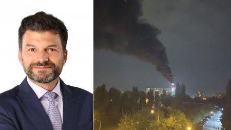 Șeful Garzii de Mediu, dupa explozia din Capitala: Sa tinem geamurile <span style='background:#EDF514'>INCHISE</span>