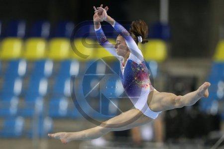 Maria Sorina Ceplinschi s-a calificat in doua finale, la Cupa Mondiala de <span style='background:#EDF514'>GIMNASTICA</span> artistica de la Mersin (Turcia)