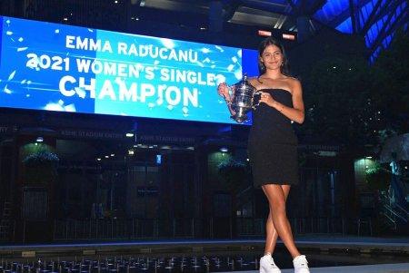Emma Raducanu, aparitie spectaculoasa dupa victoria de la US Open: Tata e greu de multumit, dar azi am reusit
