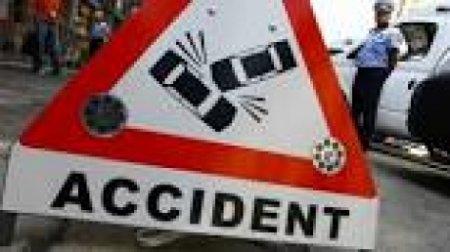 Accident teribil: Un motociclist a murit
