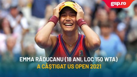 Emma Raducanu - Leylah Fernandez 6-4, 6-3. Britanica scrie istorie: e campioana la US Open 2021