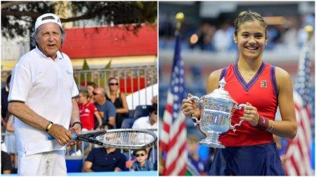 <span style='background:#EDF514'>ILIE NASTASE</span>, despre Emma Raducanu, noua campioana de la US Open: Tatal este antrenorul ei si este foarte dur cu ea!