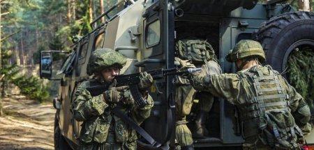 Zapad-2021: Armata rusa incearca sa capteze atentia cu un robot de lupta