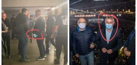 Sindicatul Europol: Lucian Bode surprins la UNTOLD fara masca. Ce ar trebui sa le spuna politistii oamenilor pe care ii amendeaza pentru nepurtarea mastii?