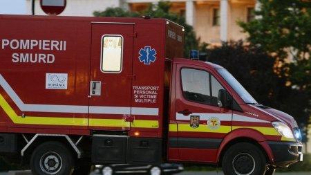 Accident grav in Dolj. Un om a murit si alti doi au fost raniti, dupa impactul frontal intre doua masini