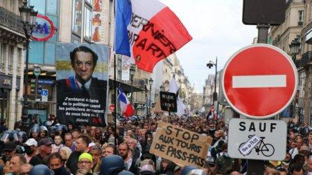 Noi proteste in Europa. Zeci de mii de oameni contesta masurile impuse in valul 4 al pandemiei