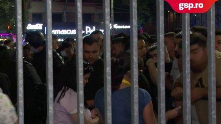 FCSB - DINAMO. Incidente in afara Arenei Nationale! Interventie in forta a <span style='background:#EDF514'>JANDARMI</span>lor