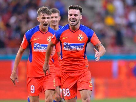 FCSB - Dinamo 6-0. Cel mai categoric succes pentru ros-albastri in duelul cu rivala istorica
