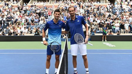 Daniil Medvedev l-a invins pe Novak Djokovic si a castigat titlul la US Open 2021. Sarbul a ratat Marele Slem