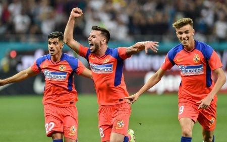 FCSB si-a umilit rivala. Echipa lui Edi Iordanescu a invins-o cu 6-0 pe Dinamo
