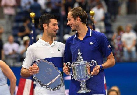 Medvedev, elogii pentru Djokovic dupa ce l-a batut la US Open: