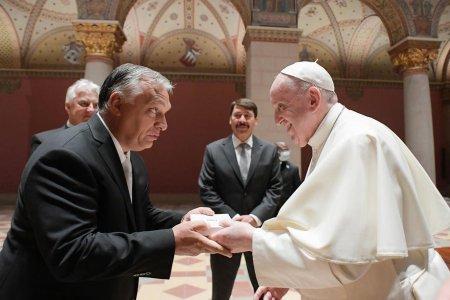 Darul oferit Papei Francisc de premierul maghiar Viktor Orban