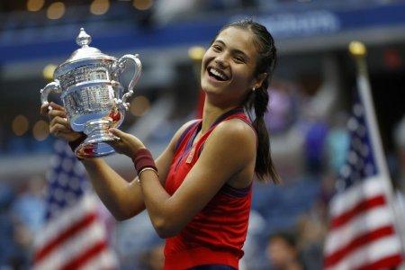 Emma Raducanu a vorbit la perfectie intr-o alta limba, nu <span style='background:#EDF514'>IN ENGLEZA</span>, dupa victoria de la US Open