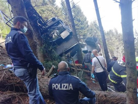 Baietelul de sase ani care a supravietuit accidentului de telecabina din Italia a fost rapit. Procurorii cerceteaza cazul