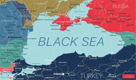 Colaborari la nivel inalt. Rusia si SUA au incheiat un acord pentru extragerea gazelor din Marea Neagra