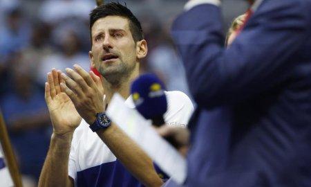 Motivul pentru care Novak Djokovici a izbucnit in lacrimi, in timpul finalei pierdute de la US Open