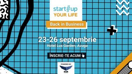 Tabara unde devii antreprenor mai bun: Startup Your <span style='background:#EDF514'>LIFE</span> 2021
