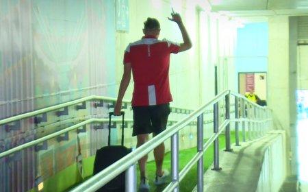 Un jucator dinamovist a incurcat drumul spre autocar si s-a trezit in fata fanilor de la FCSB » Ce a urmat