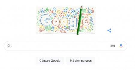 Prima zi a anului scolar 2021-2022, marcata de Google printr-un doodle special