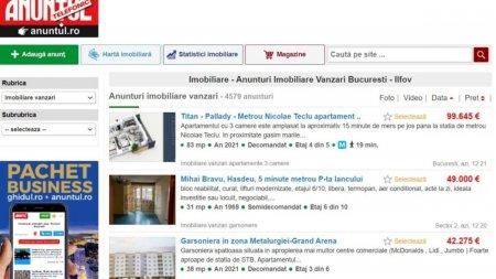 Gaseste cele mai noi oferte <span style='background:#EDF514'>IMOBILIAR</span>e Bucuresti. Intra pe Anuntul.ro