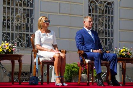 Carmen Iohannis, sotia presedintelui Klaus Iohannis, a atras privirile tuturor cand a aparut asa in public