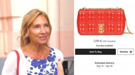 Geanta de 1.300 de euro purtata de Carmen Iohannis la inceput de <span style='background:#EDF514'>AN SCOLAR</span>