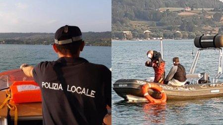 Un roman a disparut intr-un lac din Italia