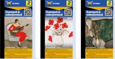 S-a lansat prima colectie de arta pe cartele de metrou din Romania