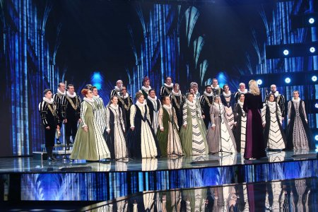 X Factor 2021, 13 septembrie. Corul Madrigal a interpretat capodopera Thank you for the <span style='background:#EDF514'>MUSIC</span>, care apartine celebrei trupe Abba