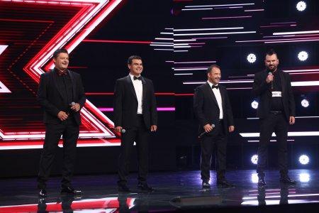 X Factor 2021, 13 septembrie. Quartet Belcanto a incantat juriul cu <span style='background:#EDF514'>ARMO</span>niile speciale ale melodiei Ti Amero, de Il Divo