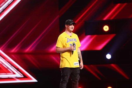 X Factor 2021, 13 septembrie. Gabriel Florian Galiceanu Panama a interpretat o piesa scrisa de el. De ce l-a oprit Ștefan Banica