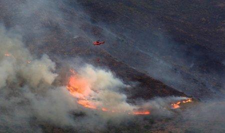 MAE a emis avertizare de calatorie pentru Spania: Incendiul de <span style='background:#EDF514'>VEGETATIE</span> din Malaga s-a extins