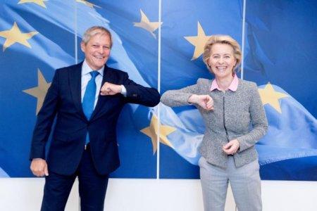 Ciolos a discutat cu Ursula von der Layen despre criza politica din Romania