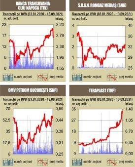 BVB Declin pentru indici,  in contrast cu evolutiile  din pietele europene
