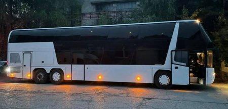 Autobuz transformat in hotel de lux pe roti la Brasov. <span style='background:#EDF514'>CAT COSTA</span> o asemenea bijuterie si cum se poate face FOTO VIDEO