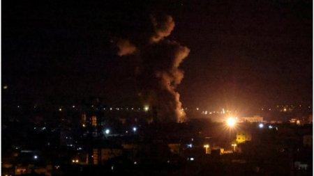 Israel loveste tinte Hamas din Fasia <span style='background:#EDF514'>GAZA</span>, pentru a treia noapte consecutiva