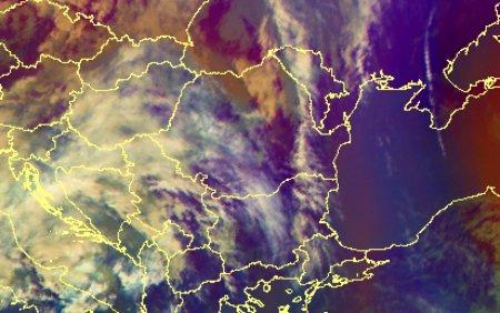 Cod galben de ploi, cu <span style='background:#EDF514'>DESCARCA</span>ri electrice si intensificari ale vantului. Zonele vizate