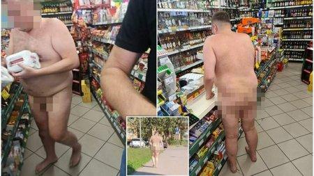 Un procuror polonez a fost fotografiat beat, in costumul lui Adam, intr-un magazin de bauturi