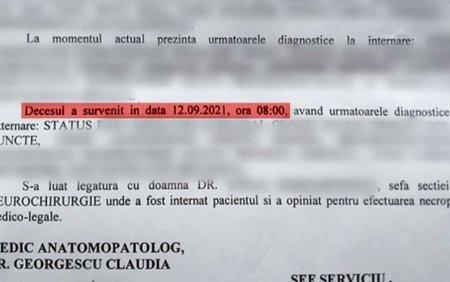 Un pacient care era internat la <span style='background:#EDF514'>SPITALUL JUDETEAN</span> din Craiova, declarat mort, desi este in viata. Cum a fost posibil