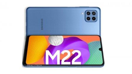 Galaxy M22, lansat oficial pentru piata europeana. Noul M vine cu acumulator de 5000mAh