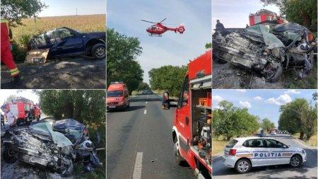 O tanara de 21 de ani a murit, dupa ce masina pe care o conducea s-a izbit de un copac, la iesirea din <span style='background:#EDF514'>NADLAC</span>