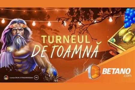 START la cel mai mare turneu din <span style='background:#EDF514'>CAZINOUL</span> Betano! Turneul de Toamna vine cu premii totale de 150.000 de lei si 15.000 de Rotiri Gratuite!