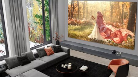 Cel mai mare televizor LG are 335 inch in diagonala si ecran microLED. <span style='background:#EDF514'>CAT COSTA</span>?